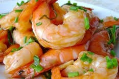 Scampi's in knoflook