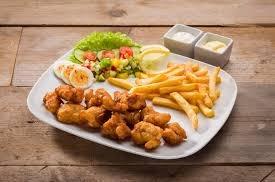Kibbeling menu