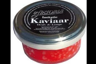 Imitatie Kaviaar rood